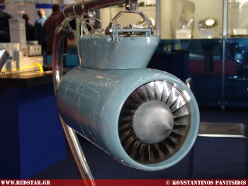 MS400P Small-size turbofan engine © Konstantinos Panitsidis