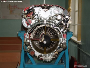 Turboshaft engine TV2-117  © Konstantinos Panitsidis