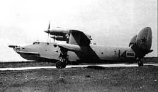 Be-14 Search and rescue aircraft. First flight: 1969