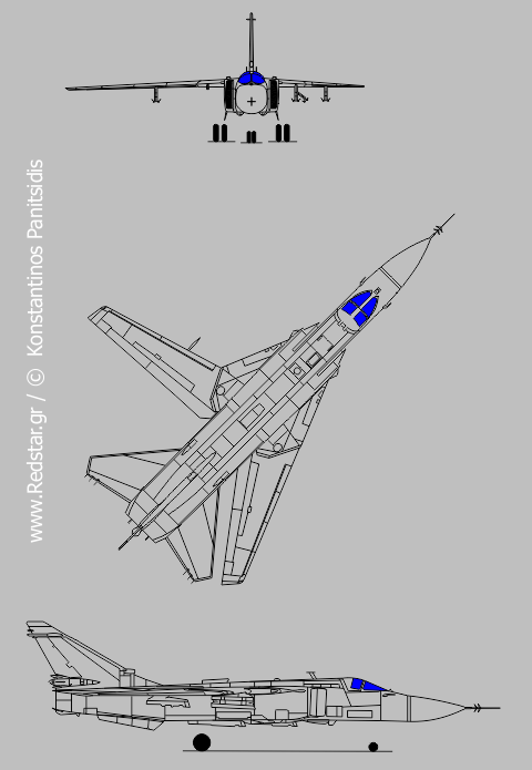 Su-24MP (Fencer-F) © Konstantinos Panitsidis