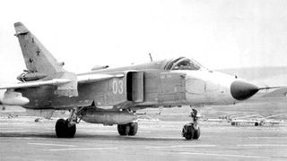 Su-24MR Fencer Reconnaissance. First flight: 1980