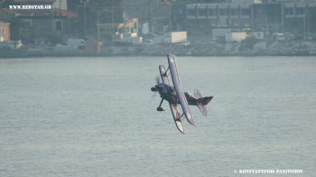 "ALI OZTURK PITTS Special Solo, ""KAVALA AIRSEA SHOW 2013"""