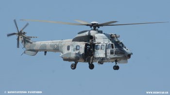 Αεροπορική επίδειξη AS 332 C1 Super Puma της Π.Α Athens Flying Week 2013 © Konstantinos Panitsidis